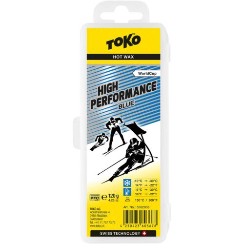 TOKO High Performance Blue Wax 120g