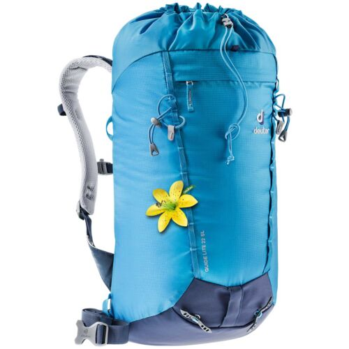Deuter Guide Lite 22 SL Greencurry-Navy Front left
