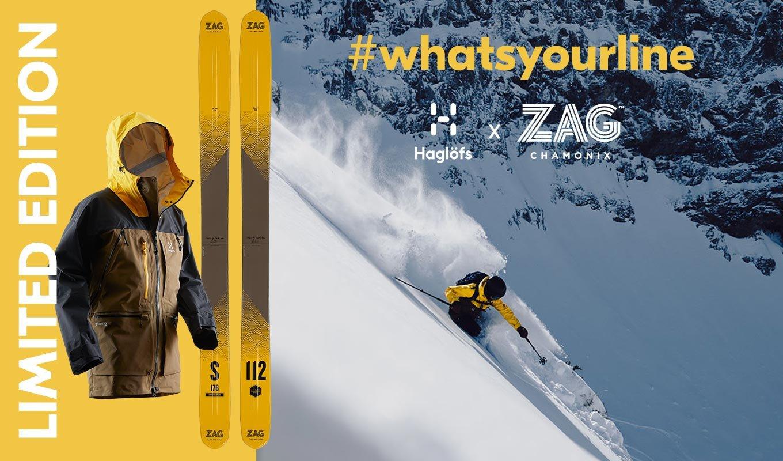 ZAG x Haglofs Vassi collection