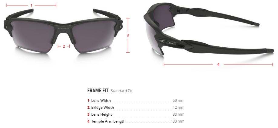 oakley prizm polarized flak 2