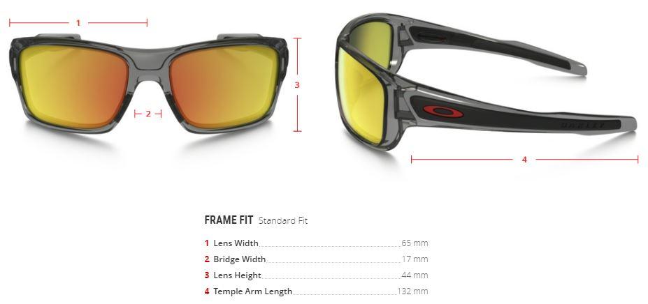 a87c9c6b33 Oakley Turbine Grey Ink - Ruby Iridium Polarized - Sunglasses ...